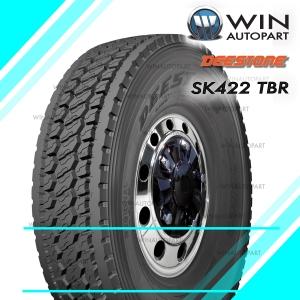11R22.5 ยี่ห้อ DEESTONE รุ่น SK422 ยางรถบรรทุก เรเดียล TBR 146/143L H16 T/L