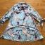Lady Leslie Vivid Blue Printed Bow Dress thumbnail 7
