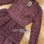 Lace Dress เดรสผ้าลูกไม้สีชมพูฟูเชีย thumbnail 6