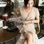 Star Velvet Ruffle Lady Ribbon Dress thumbnail 3