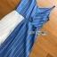 Two-Tone Striped Twisted Lady Ribbon Dress thumbnail 4