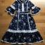 Chiffon Ruffle Maxi Dress เดรสยาว thumbnail 7
