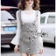 Lady Suit Dress Over White Blouse thumbnail 4