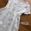 Lace Dress Lady Ribbon ขายเดรสยาว thumbnail 5