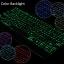 """ISYNAT เคสคีย์บอร์ดมีไฟ LED 7 สี หมุนได้ 360 องศา - เคสไอแพด 2018 (9.7"""") thumbnail 4"""