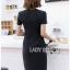 Lady Taylor Minimal Chic Striped Dress thumbnail 2