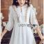Bohemian Embroidered Lady Ribbon Cotton Dress thumbnail 2