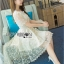 Lace Dress Lady Ribbon ขายเดรส thumbnail 3