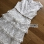 Lady Erin Sweet Layered White Lace Dress thumbnail 6