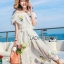 Lady Elise Summer Embroidered Chiffon Dress thumbnail 1