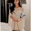 Lady Claire Sexy & Classy White Body-Con Dress thumbnail 5