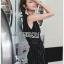 Lady Ribbon Sleeveless Dress เดรสแขนกุดมินิมัล thumbnail 3