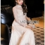 Lady Pat Sweet and Classic Off-White Lace Dress thumbnail 4