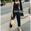 Lady Lily Casual Chic Ribbon Jumpsuit thumbnail 2