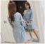 Lady Polly Striped Cotton Shirt Dress thumbnail 2