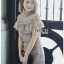 Self-Portrait Lace Lady Ribbon Maxi Dress thumbnail 1