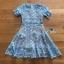 Blue Lace Dress เดรสสั้นผ้าลูกไม้สีฟ้า thumbnail 9