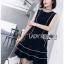Lady Daria Minimal Chic Little Black Dress thumbnail 3