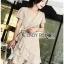 Star Velvet Ruffle Lady Ribbon Dress thumbnail 2