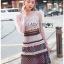 Layered Lace Lady Ribbon Mini Dress thumbnail 4