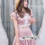 ชุดกระโปรงสวยหวานโทนสีชมพูนู๊ท thumbnail 6