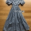 Lady Eva Country Style Check Cotton Dress thumbnail 8