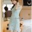 Chic Minty Lady Ribbon Lace Dress thumbnail 3