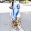 Maxi Dress อกติดกระดุมผ้า thumbnail 1