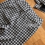 Chic Black and White Lady Ribbon Checked Suit thumbnail 7