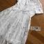 Lace Dress Lady Ribbon ขายเดรสยาว thumbnail 4