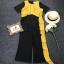 จั้มสูทผ้าอีกสีสดใสมาตัดด้านบนตัวเสื้อ thumbnail 9
