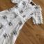 เดรสผ้าชีฟองสีขาวปักลายตกแต่งแขนระบาย thumbnail 6