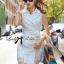 Lady Natasha Sophisticated Trench Shirt Dress thumbnail 1