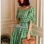 Lady Hazel Easy Summer Checked Dress thumbnail 1