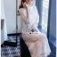 Lace Midi Dress เดรสแขนสามส่วน thumbnail 4