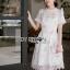 Lady Katie Sweet White Mini Dress thumbnail 1