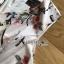 Side-Ribbon Playsuit เพลย์สูทแขนกุดพิมพ์ลายดอกไม้ thumbnail 7