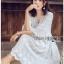 Chiffon Dress Lady Ribbon ขาย เดรสผ้าชีฟอง thumbnail 5