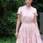 Lady Penelope Cosy Laser-Cut Cotton Dress thumbnail 1
