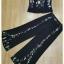 เสื้อกางเกงปัก งานแบรนด์ผ้าพื้นสีดำ thumbnail 6