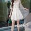 เดรสลุคสาวเกาหลี เป็นเดรสคอวีลึก thumbnail 6