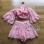 Lady Erika Bubblegum Crop Top and Skirt Set thumbnail 8