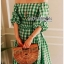 Lady Hazel Easy Summer Checked Dress thumbnail 3