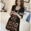 Lady Penelope Boho Black cotton Dress thumbnail 2