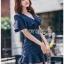 Maria Double-Breasted Dress Lady Ribbon thumbnail 3