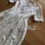 Lady Meredith Delicate Little Flower White Lace Dress thumbnail 5