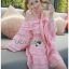 Lady Erika Bubblegum Crop Top and Skirt Set thumbnail 3