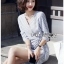 Chic Lady Ribbon Striped Cotton Kimono Dress thumbnail 5