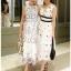 Lady Chloe Casual Printed Dress เดรสยาวแขนกุด thumbnail 4