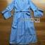 Lady Ribbon Cotton Dress เดรสสีฟ้าลายทาง thumbnail 6